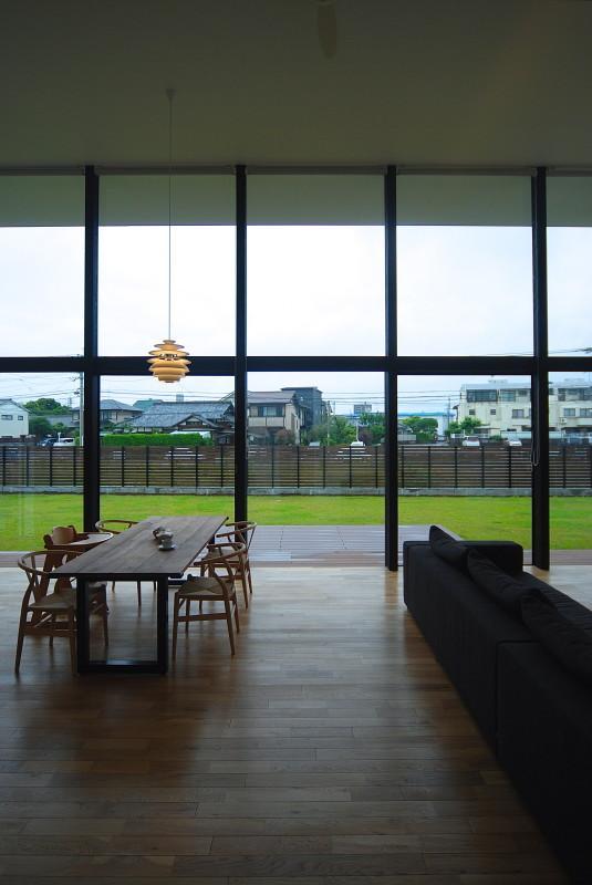 House N #128の写真 一面大開口で開放感のあるLDK