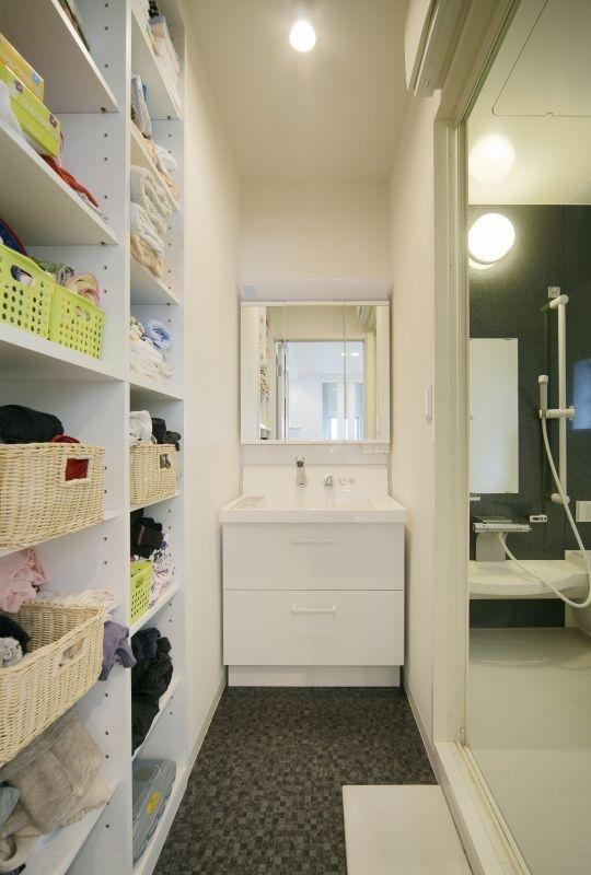 No.64 30代/4人暮らしの部屋 洗面所