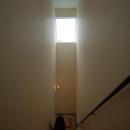 光が降り注ぐ階段