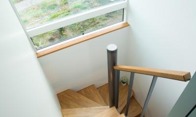 階段2|西山の住まい_土間床のある暮らし