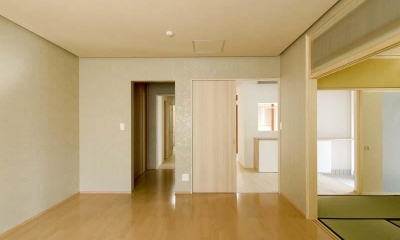 高野の家 (和室と繋がりのある空間)