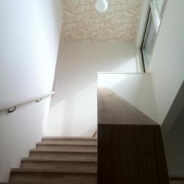 ピアノのある家 (リビング階段)