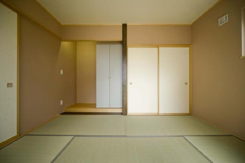 ピアノのある家の部屋 和室