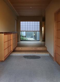 桃李の家の写真 土間のある玄関