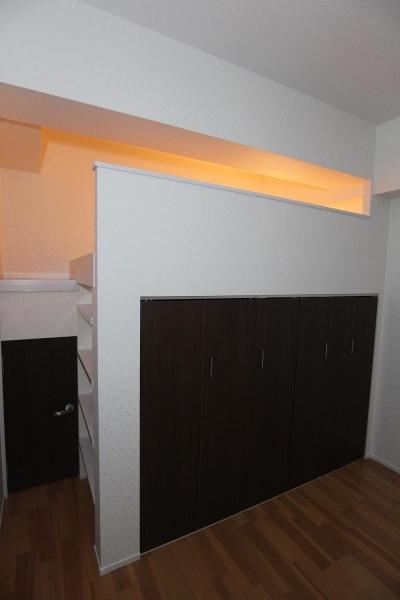 収納 (ロフトで生活スペースを確保するマンション)