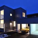 石江の家の写真 外観 夜景