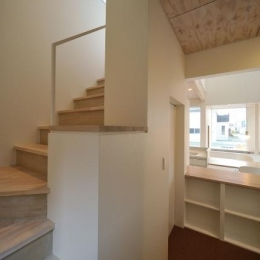 石江の家 (階段)