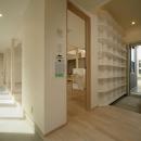 新田の家の写真 玄関・土間