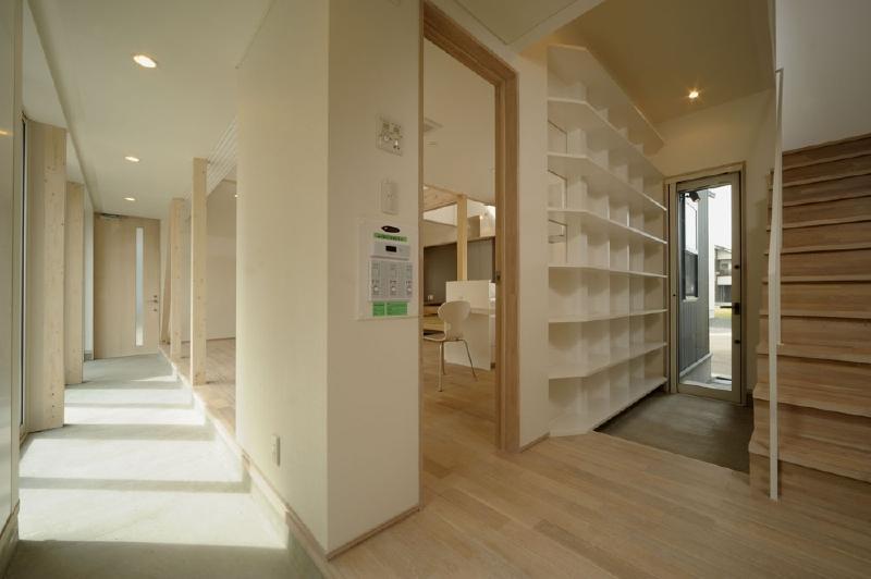新田の家 (玄関・土間)