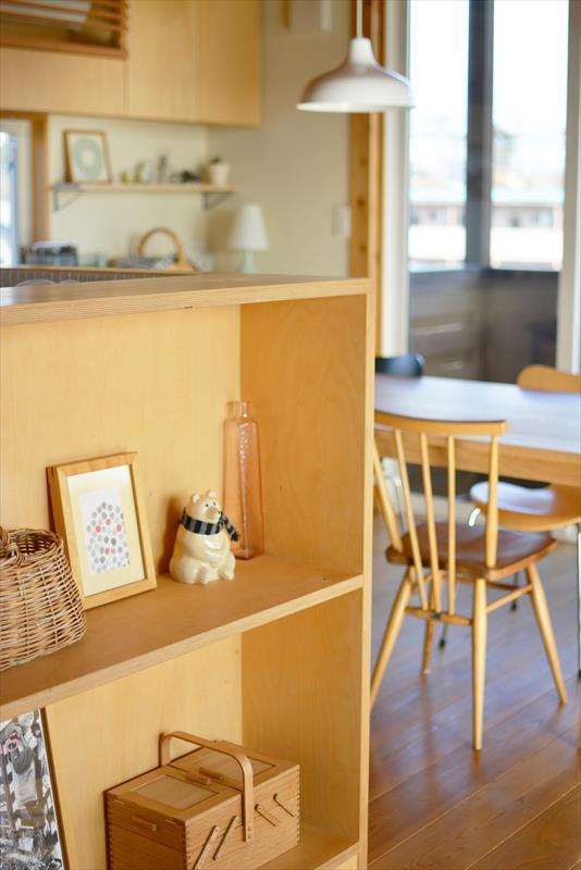 曲沢の家の部屋 飾り棚