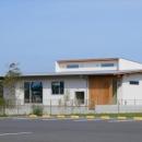 西小保方の家の写真 平屋建ての外観