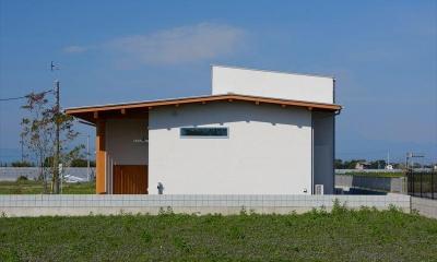 西小保方の家 (平屋建ての外観)