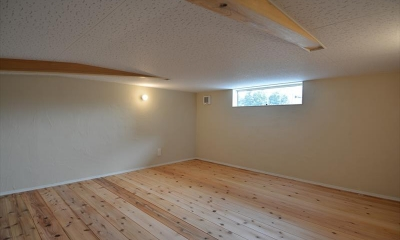 小屋裏収納|新井町の家