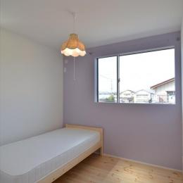 新井町の家 (ベッドルーム)