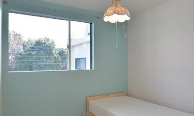 ベッドルーム|新井町の家