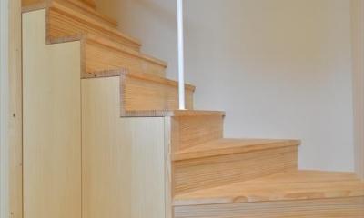 新井町の家 (階段)