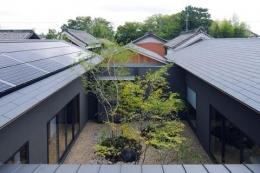 桃李の家 (中庭を囲んでいる住まい)