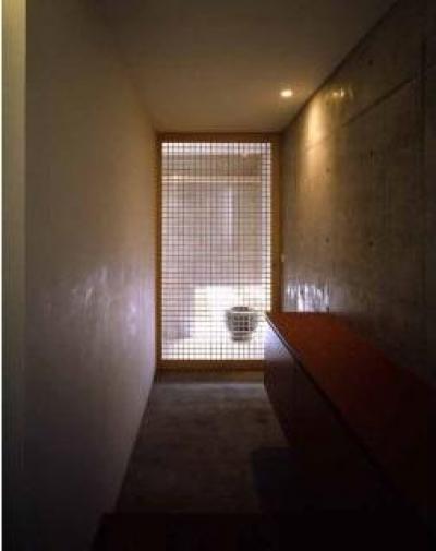 紫野の家 (収納のある玄関)
