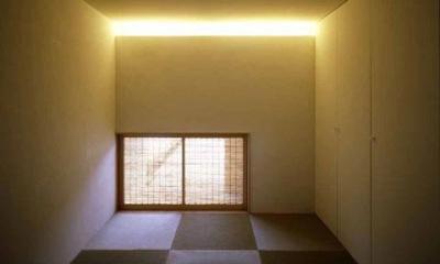 紫野の家 (陽ざしが差し込む和室)