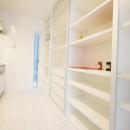 Mハウス 施工例1の写真 収納たっぷりのキッチン