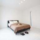 Mハウス 施工例1の写真 すっきりとした寝室