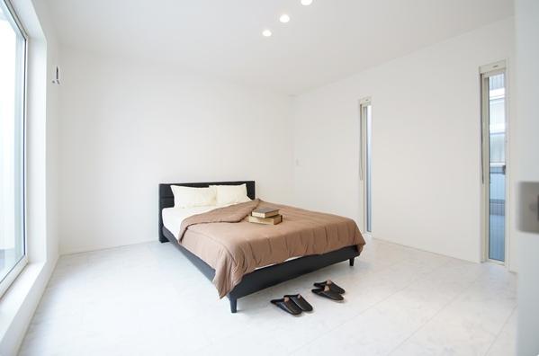Mハウス 施工例1の部屋 すっきりとした寝室