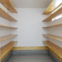 Mハウス 施工例2 (大型収納空間)