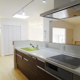 Mハウス 施工例2 (スッキリとしたキッチン)