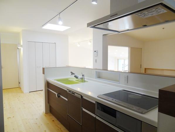 Mハウス 施工例2の部屋 スッキリとしたキッチン