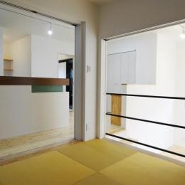 Mハウス 施工例2 (和モダンな空間)