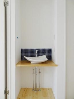 Mハウス 施工例2 (廊下の手洗い場)