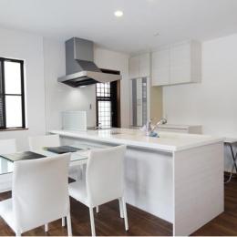 Mハウス 施工例3 (対面式キッチン)