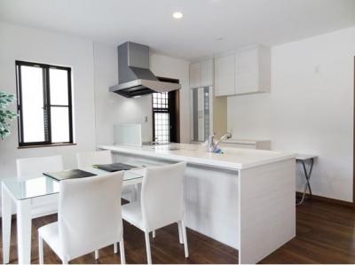 対面式キッチン (Mハウス 施工例3)