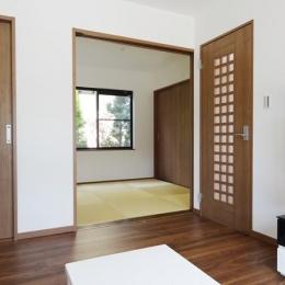 Mハウス 施工例3 (和モダンな和室)