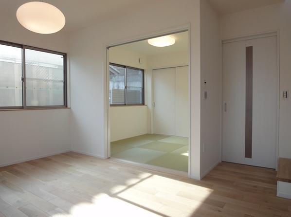 Mハウス 施工例4の部屋 小さな和室