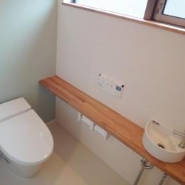 Mハウス 施工例4 (落ち着く空間のトイレ)