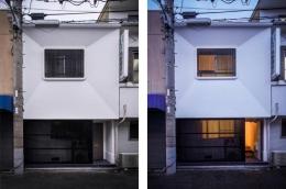 花園町の長屋 (日本の伝統的空間が残る外観)