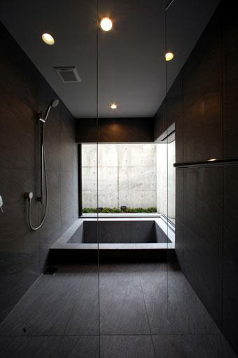 月栖の家の部屋 バスルーム