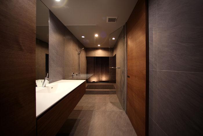 月栖の家の写真 洗面・バスルーム