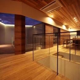 矢絣の家 (落ち着いた雰囲気のLDK)