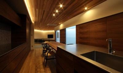 キッチン|矢絣の家
