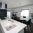 吹田の家の写真 対面式キッチン