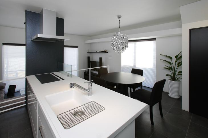 吹田の家の部屋 対面式キッチン