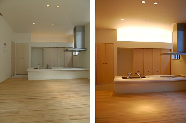 東住吉の家Ⅰの部屋 蛇口が2つあるキッチン