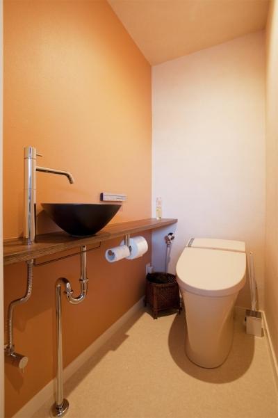 トイレ (T邸・さわやかな風の吹き抜ける住まい)