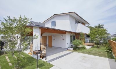 山崎の住宅 (外観)