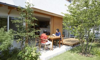 山崎の住宅 (土間テラス)
