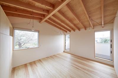 寝室 (山崎の住宅)