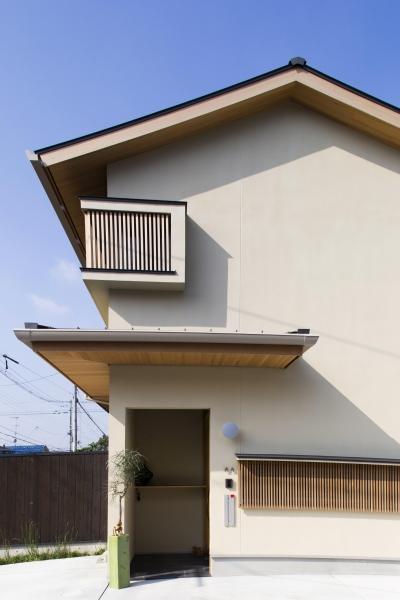 外観 (京都市T邸)