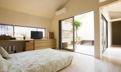 京都市T邸 (主寝室)
